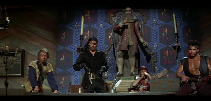 The Pirates of Blood River Blu-ray screen shot