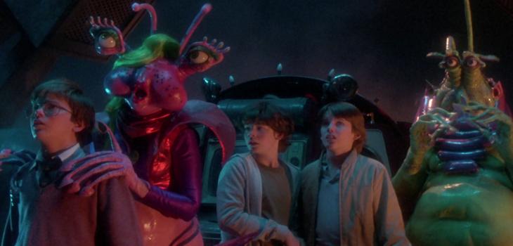 Explorers Blu-ray screen shot
