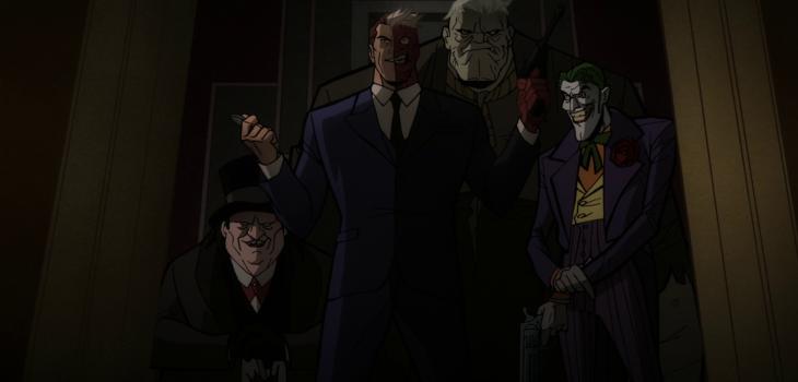 Batman Long Halloween Part 2 Blu-ray screen shot